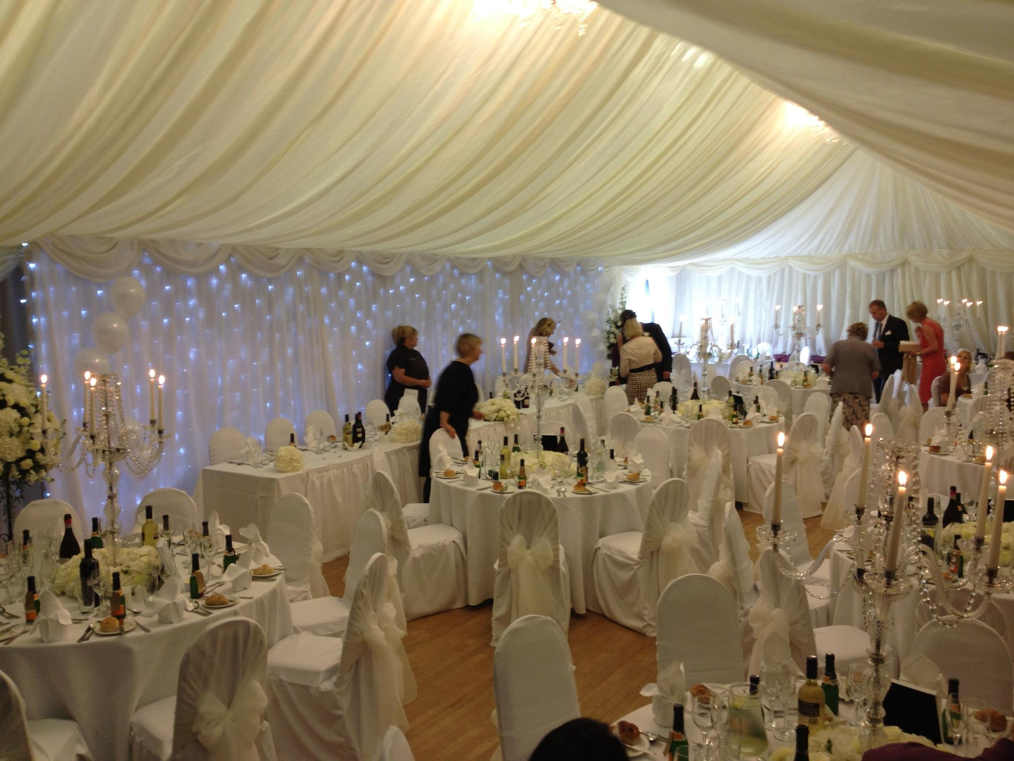 Magical chesterfield wedding venues decorating the room for Pictures of wedding venues decorated