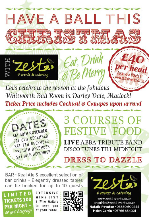 Celebrate Christmas 2013 with Zest