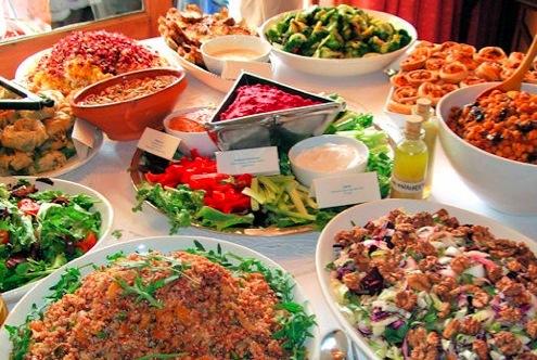 simply divine buffet
