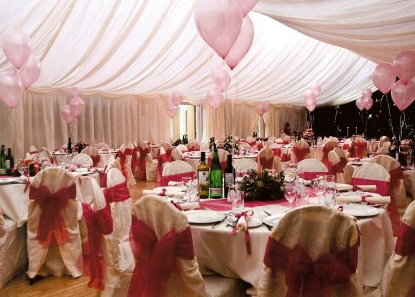 Fairy tale wedding reception at Ashover Parish Hall Events Centre