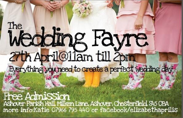 Elizabeth Aprilis Wedding Fayre at Ashover Parish Hall Events Centre