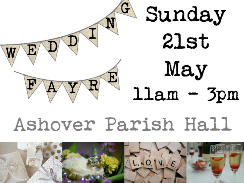 It's Wedding Fayre time – come and join us
