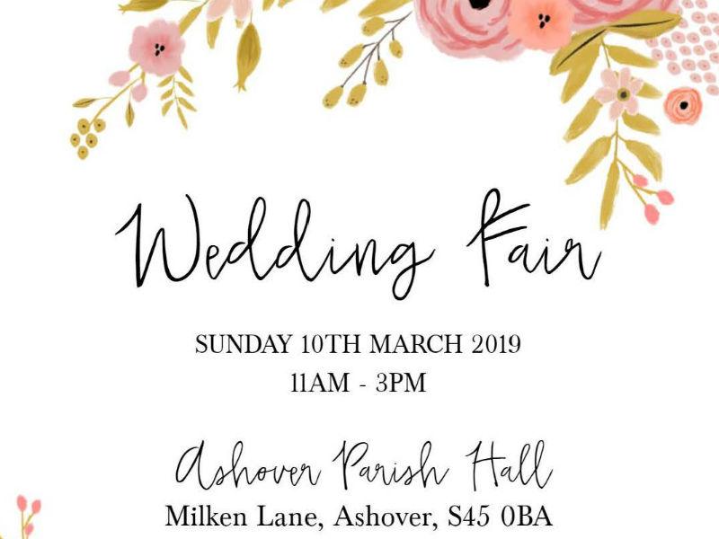 Wedding Fair – Sunday 10th March 2019